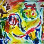 Big 5 - Acrylic, 2007