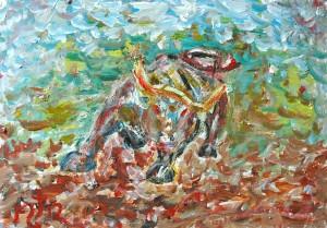 Bull - Acrylic, 2012