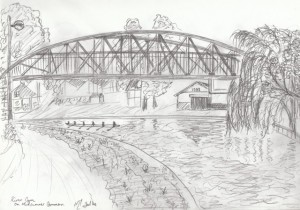 Cam Bridge - Pencil, 2006