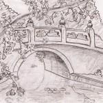 Chinese Bridge - Pencil, 2010