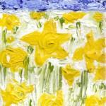 Daffodils - Acrylic, 2009