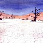 Death Valley - Watercolour, 2006