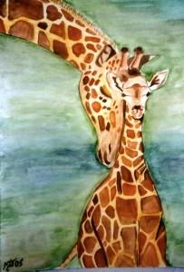 Dick & Harry - Watercolour, 2005