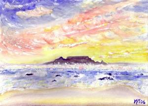 Fairest Cape - Watercolour, 2006