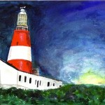Lighthouse - Watercolour, 2006