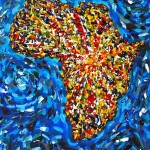 Luminous Continent - Acrylic, 2012