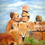 Matopos - Watercolour, 2006