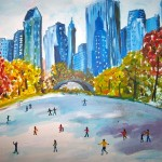 New York - Watercolour, 2006