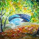 Central Park - Watercolour, 2006