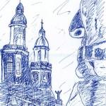 Santiago Square - Ink, 2010