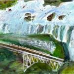 Victoria Falls - Watercolour, 2006